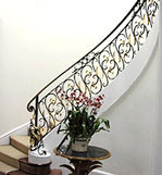 Curved Grand Stair Case