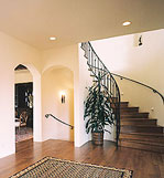 Interior Sweeping Stairwell