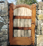 Wooden Pedestrian Gate